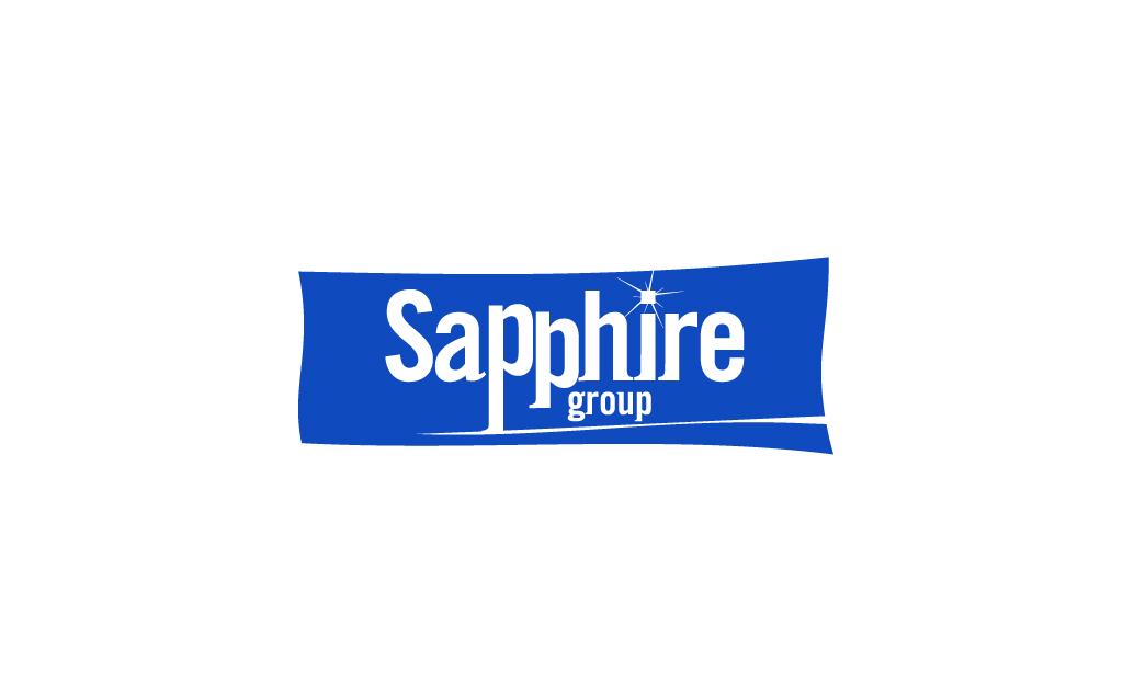 Логотип для управляющей компании «Сапфир групп»