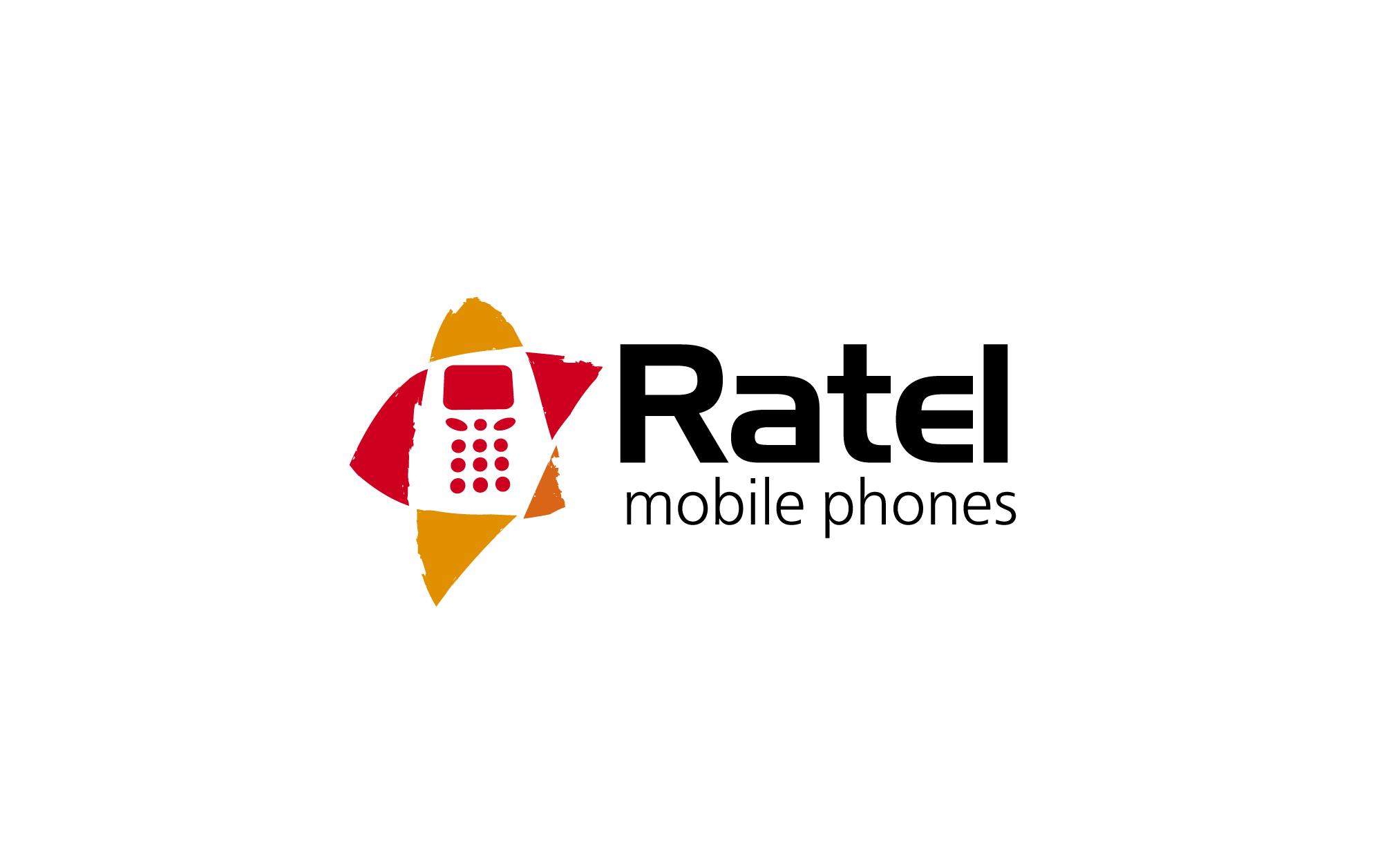 Разработка логотипа магазина мобильных аксессуаров Ratel