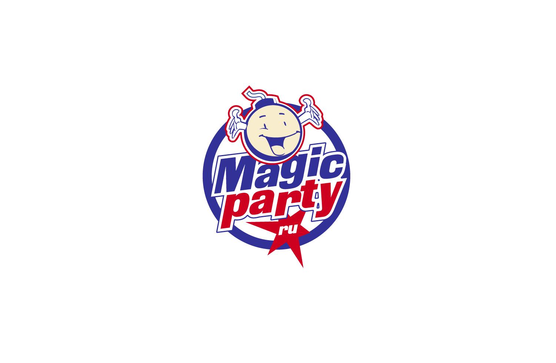 Разработка логотипа магазина MagicParty