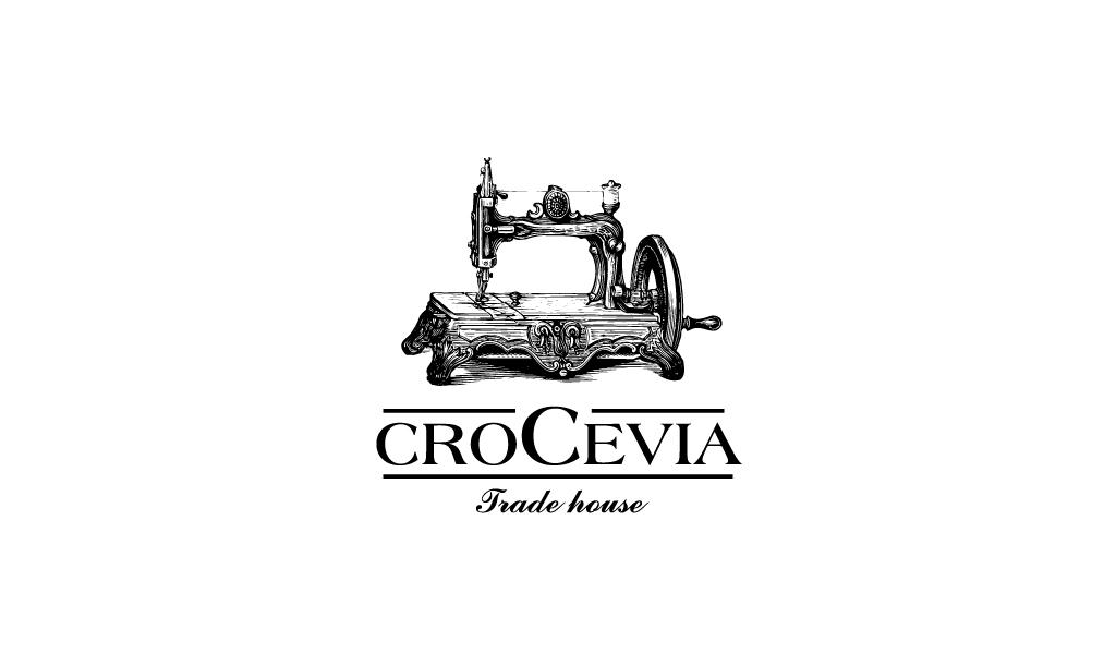 Crocevia. Логотип для магазина модной одежды. Германия