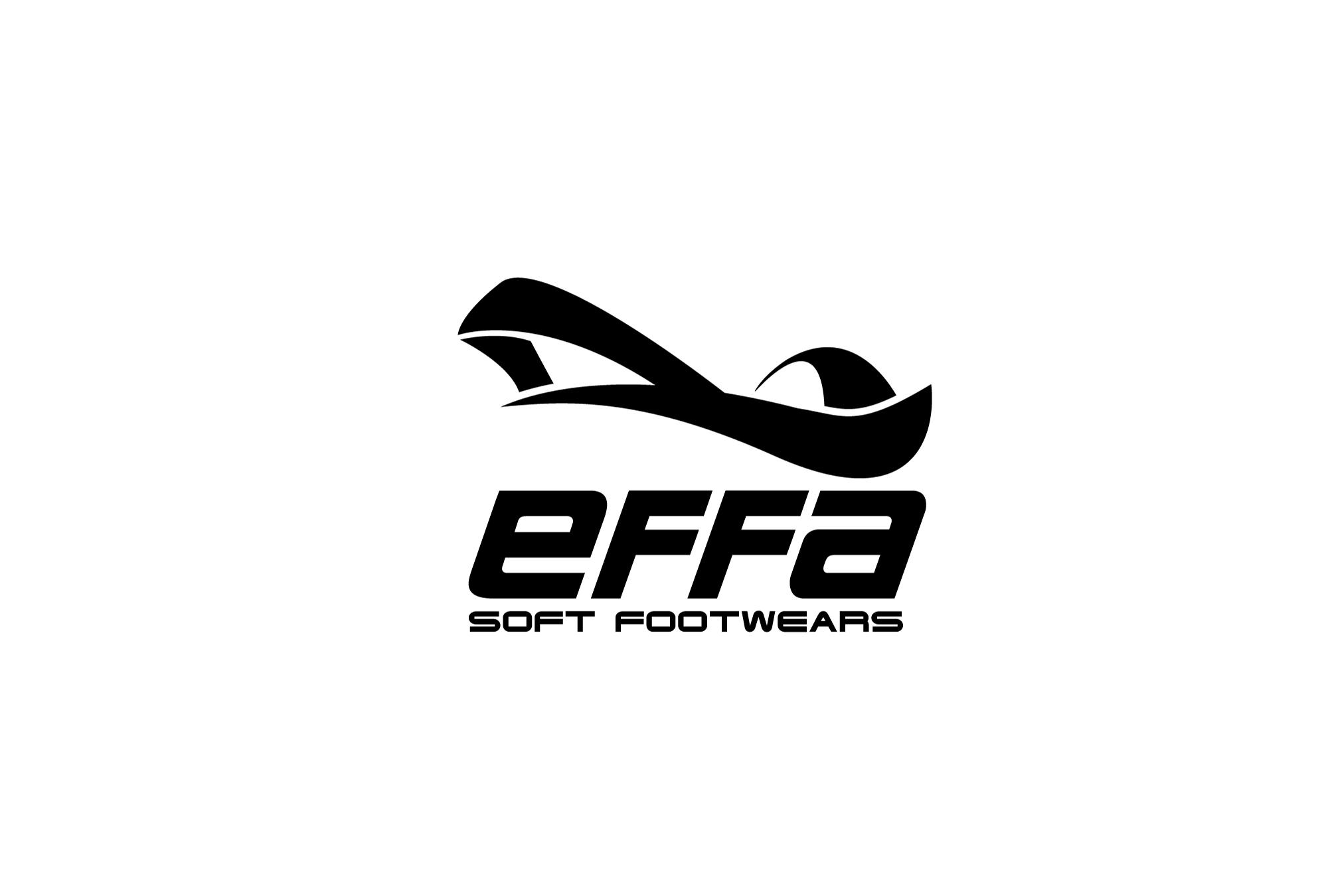 Разработка логотипа Effa. Спортивная обувь
