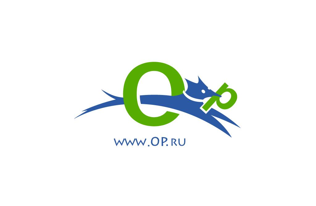 Логотип для поисковой системы op.ru