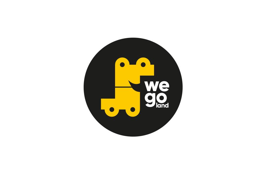 Логотип и фирменный стиль WeGo.  Джип туры и джиппинг в Подмосковье
